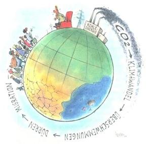 Dieses Bild hat ein leeres Alt-Attribut. Der Dateiname ist Globus-Klimawandel.jpg